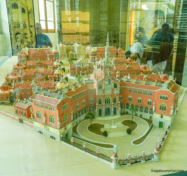 Maquete do Hospital Sant Pau, Barcelona