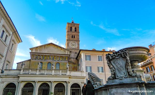 Igreja de Santa Maria in Trastevere, Roma