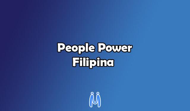 People Power Filipina Pada Era Kontemporer