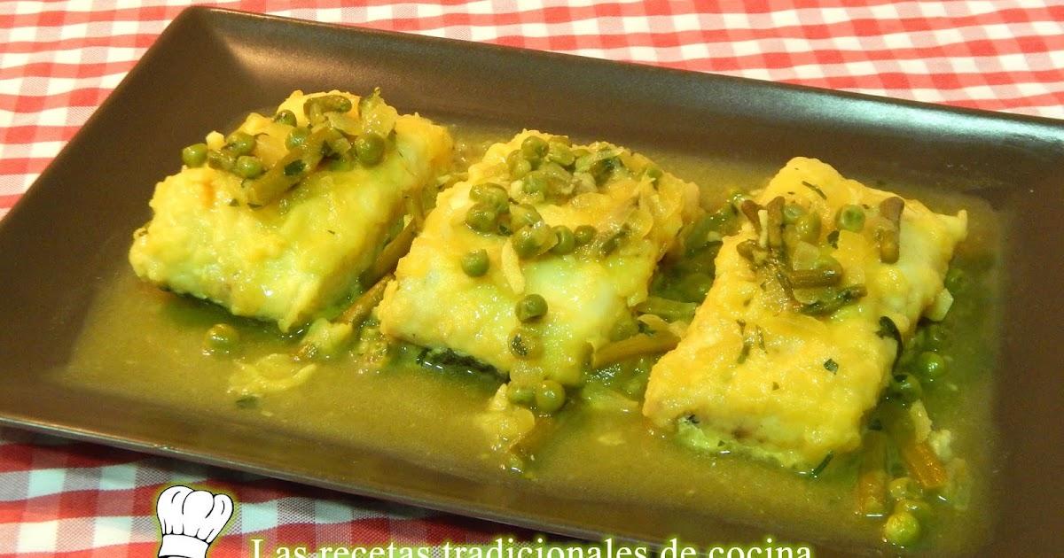 Receta F Cil De Merluza En Salsa Con Esparragos Recetas
