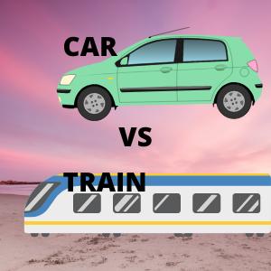 Perbandingan Mudik pakai mobil dan Kereta api