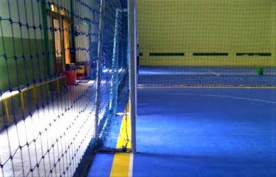 Lapangan Futsal Taraflex Polyethylene