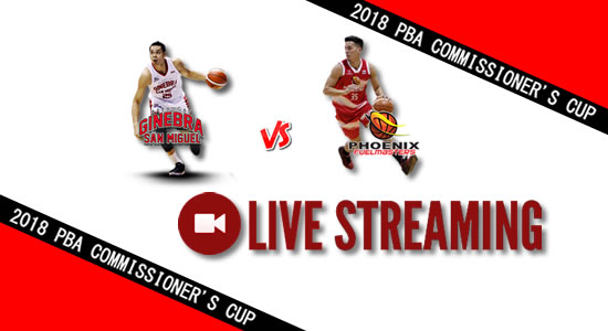 Livestream List: Ginebra vs Phoenix May 20, 2018 PBA Commissioner's Cup