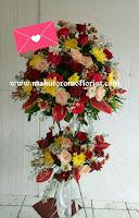 Rangkaian bunga setending murah