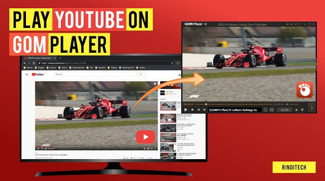 Cara Membuka Video Youtube di Gom Player Online