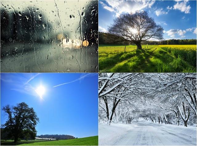 Ο καιρός στην Ρόδο σήμερα, σε πόλη, κωμοπόλεις και χωριά της