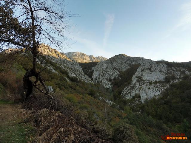 Ruta del Tiatordos: Foz del Palombar.