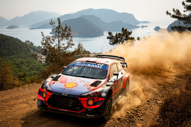Hyundai World Rally Car