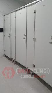 Cubicle Toilet Phenolic - Universitas Palangkaraya - Kaltim