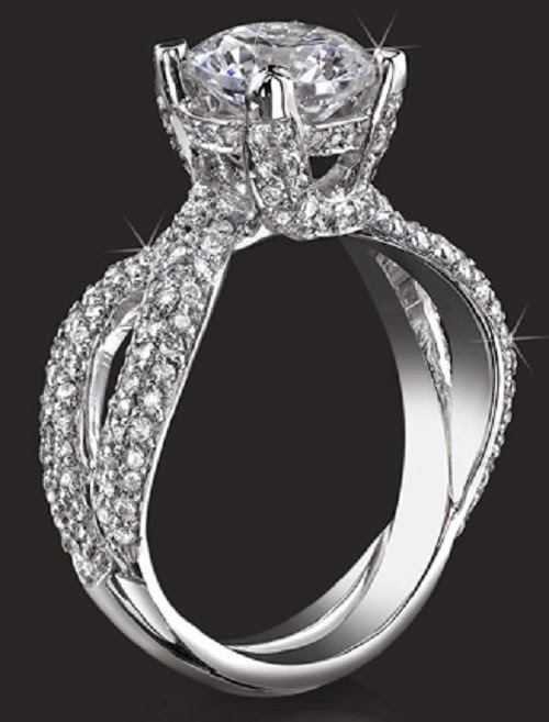 Latest Fashion World Most Beautiful Engagement Rings For