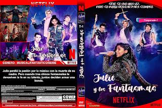 CARATULA 1 JULIE Y LOS FANTASMAS 2020 1 TEMPORADA[COVER DVD]