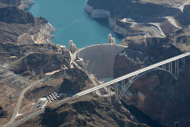 Hoover Dam Bridge em Las Vegas