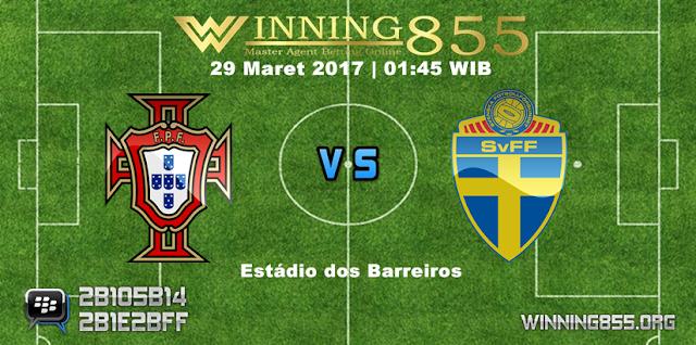 Prediksi Skor Portugal vs Swedia 29 Maret 2017