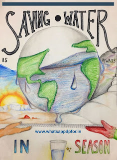 drawings and paintings on water conservation
