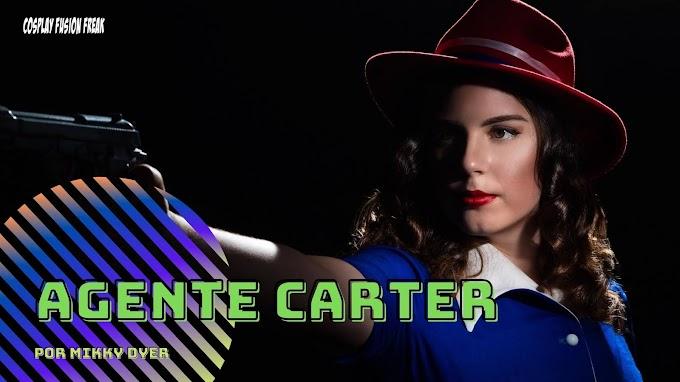 Mikky Dier perfecta con su cosplay de Agente Carter