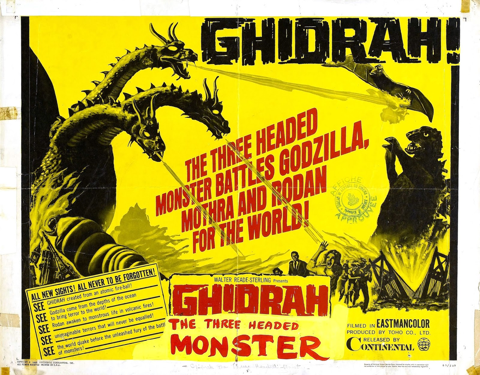 the good the bad and the critic godzilla vs ghidora