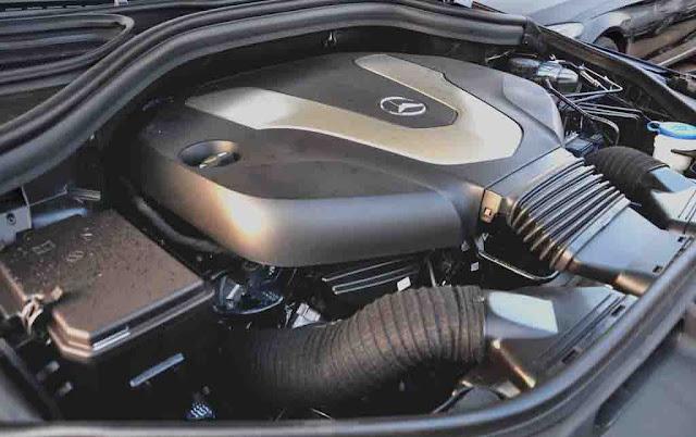 Động cơ Mercedes GLS 350d 4MATIC 2017 vận hành mạnh mẽ và vượt trội