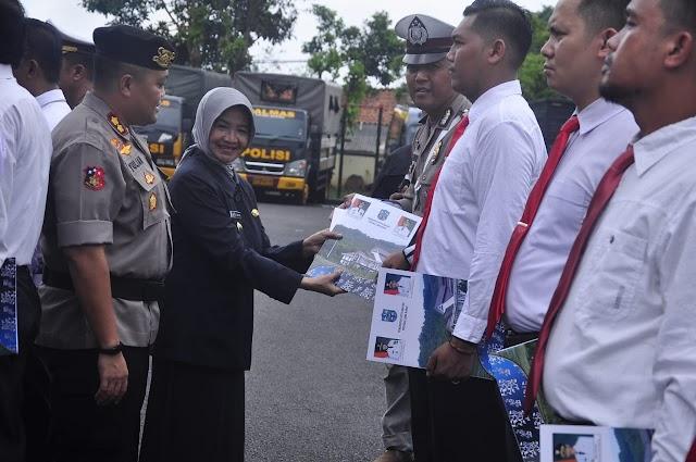 Pemkot Banjar Beri Penghargaan Personil Polres Banjar Atas Ungkap Narkoba Dan Pencurian