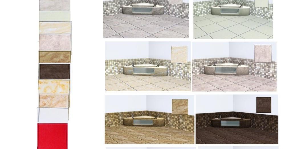 19 sims 3 blog marmor fliesen set 3. Black Bedroom Furniture Sets. Home Design Ideas