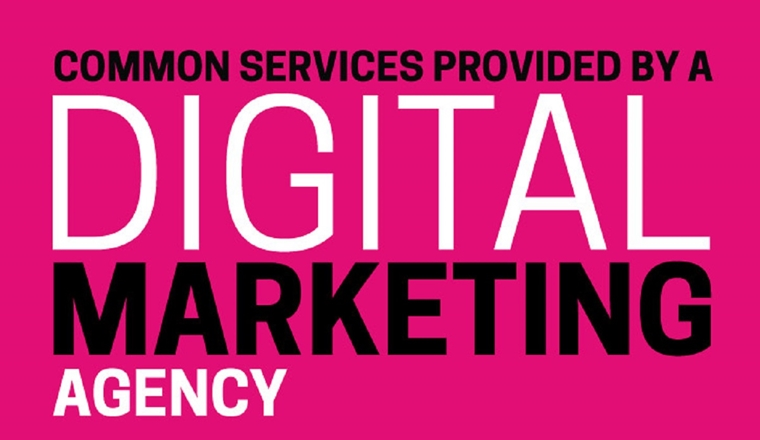Common Services Provided By A Digital Marketing Agency #infographic