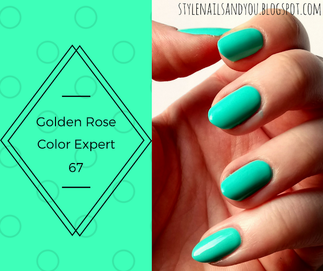Golden Rose Color Expert 67
