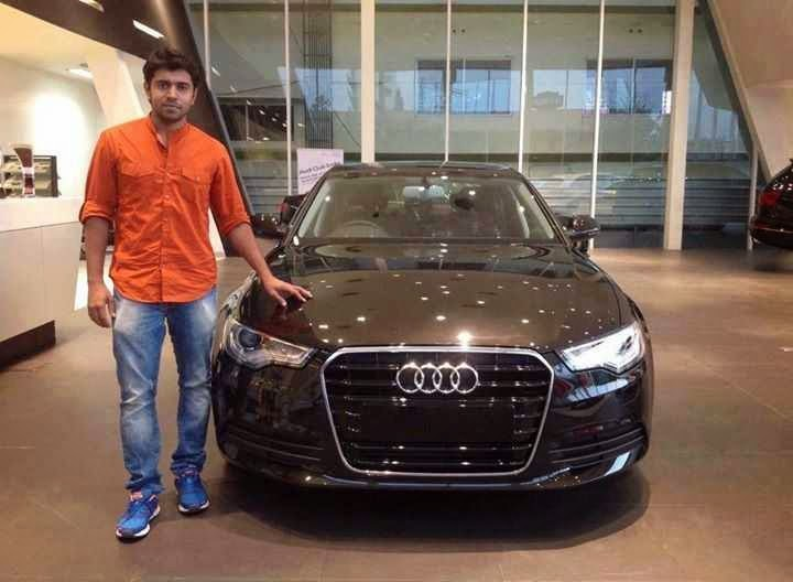 Our Premam Hero Nivin Pauly with his brand new Audi A6.