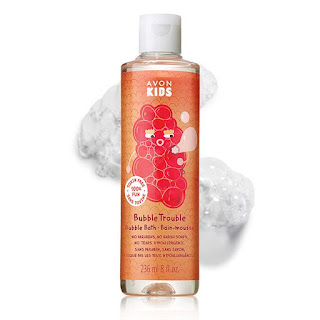 avon catalog 22 kids apple burst bubble bath