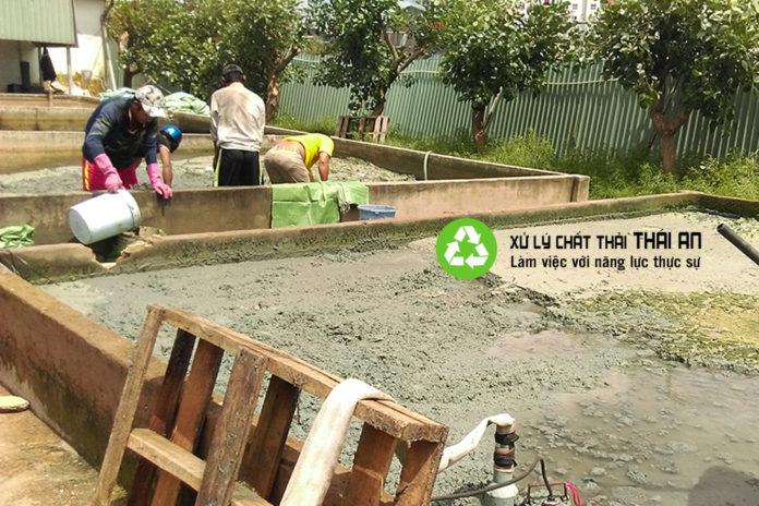 Công ty xử lý bùn thải công nghiệp
