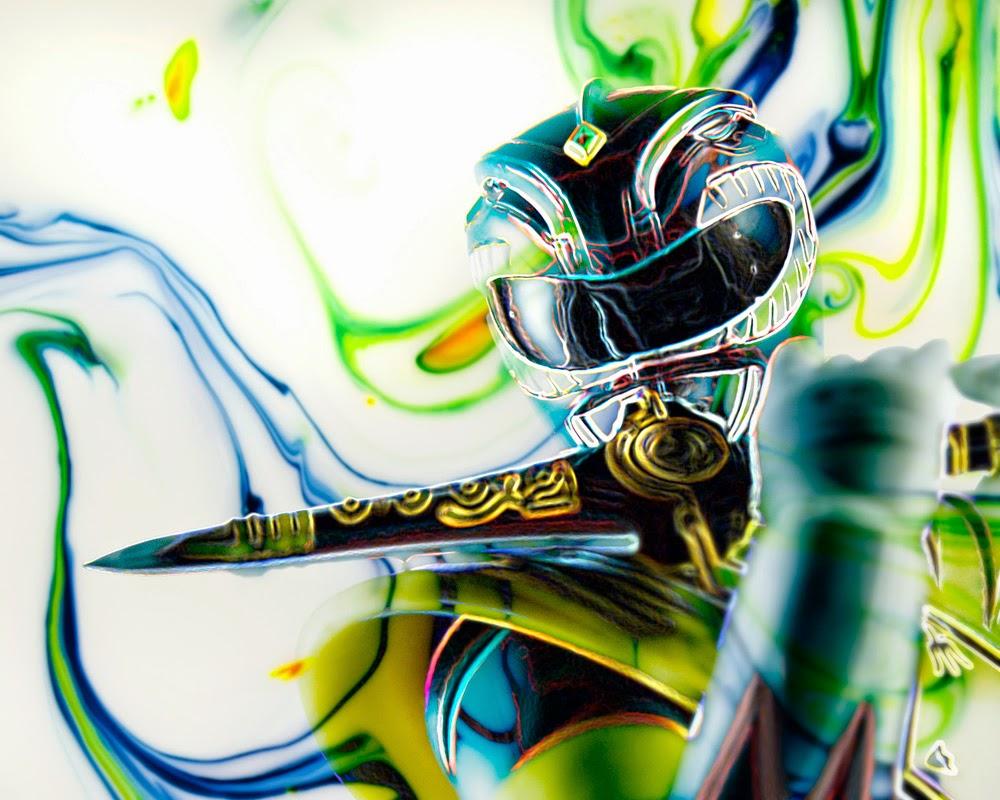 Fine Art of Green Ranger Toy