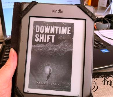 Downtime Shift - Robert Holding cover on Kindle