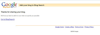 Cara PING Blog Agar Blog atau url cepat terindex google