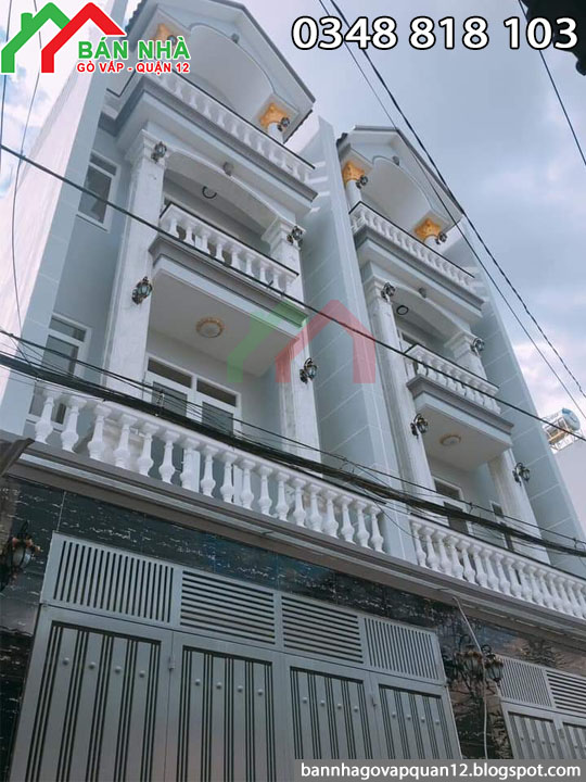 Bán nhà đường số 1 phường 13 gò vấp