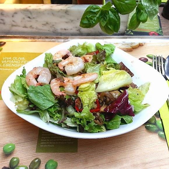 caesars salad kalorien