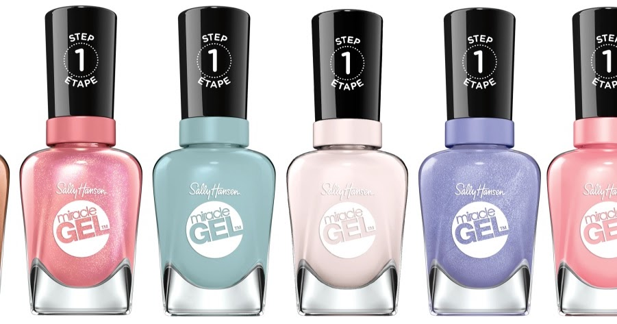 Sally Hansen Miracle Gel Pastel Punk Collection With Swatches Beauty Crazed In Canada