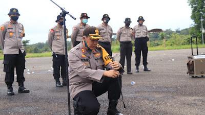 Antisipasi Karhutla Dan Pengamanan Pemilukada,Polres Mura Gelar Latihan