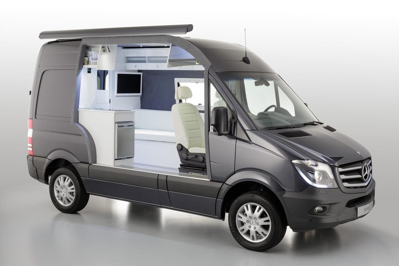 automotiveblogz mercedes benz sprinter caravan concept. Black Bedroom Furniture Sets. Home Design Ideas