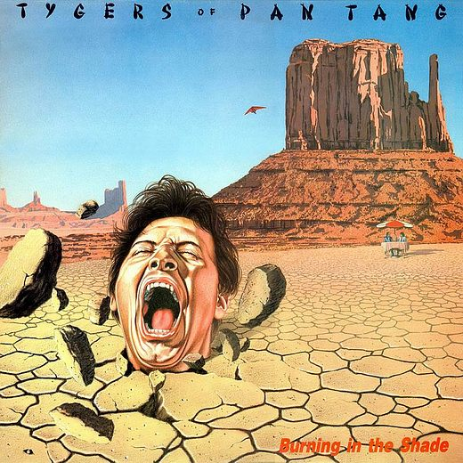 TYGERS OF PAN TANG - Burning In The Shade [Cherry Red remastered reissue 2016] full