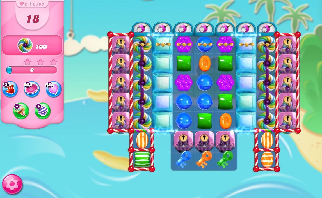 Candy Crush Saga level 6759