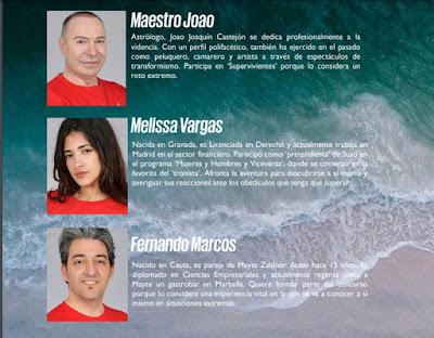 Maestro Joao Melissa Vargas y Fernando Marcos