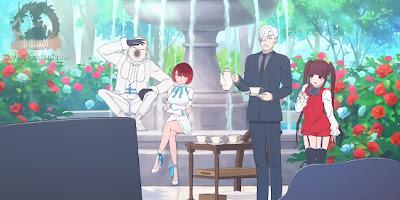 تقرير انمي Shinigami Bocchan to Kuro Maid (السيد الشاب حاصد الأرواح والخادمة السوداء)