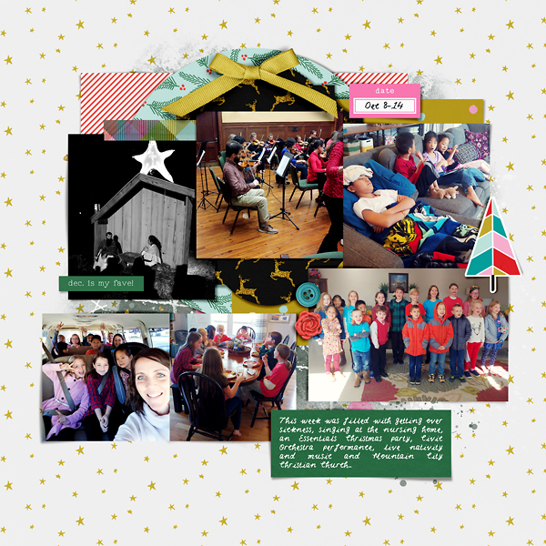 Scrapbook Week 50 {left}