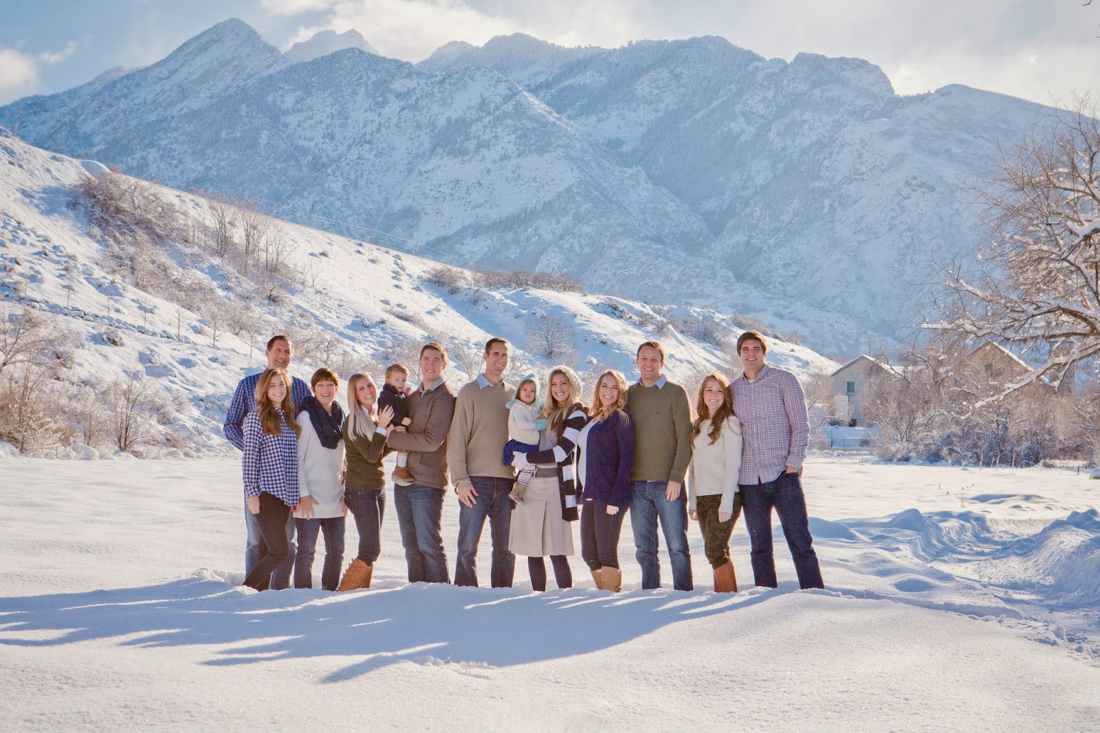 tips for photographing large families