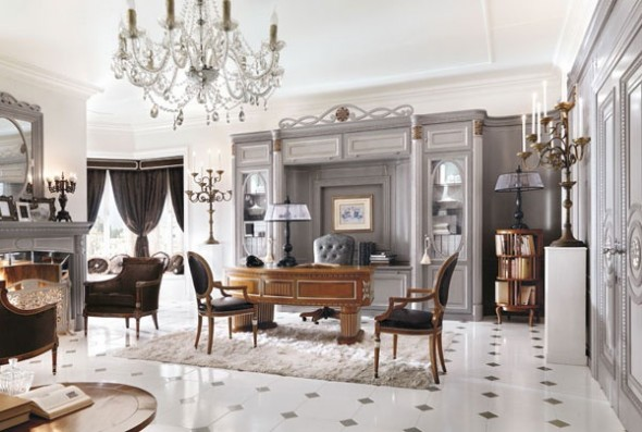 Luxury Home Office Great Interior Design In