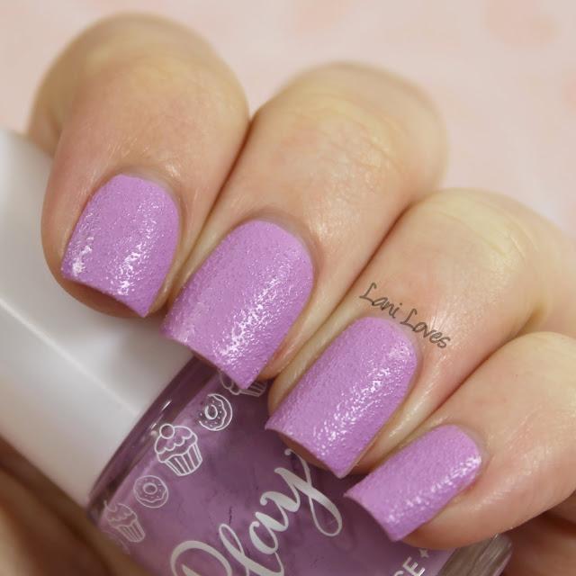 Etude House Play Nail Sugar Powder #196 nail polish swatch