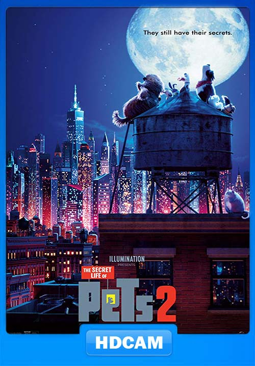 The Secret Life of Pets 2 2019 HDCAM x264 | 480p 300MB | 100MB HEVC