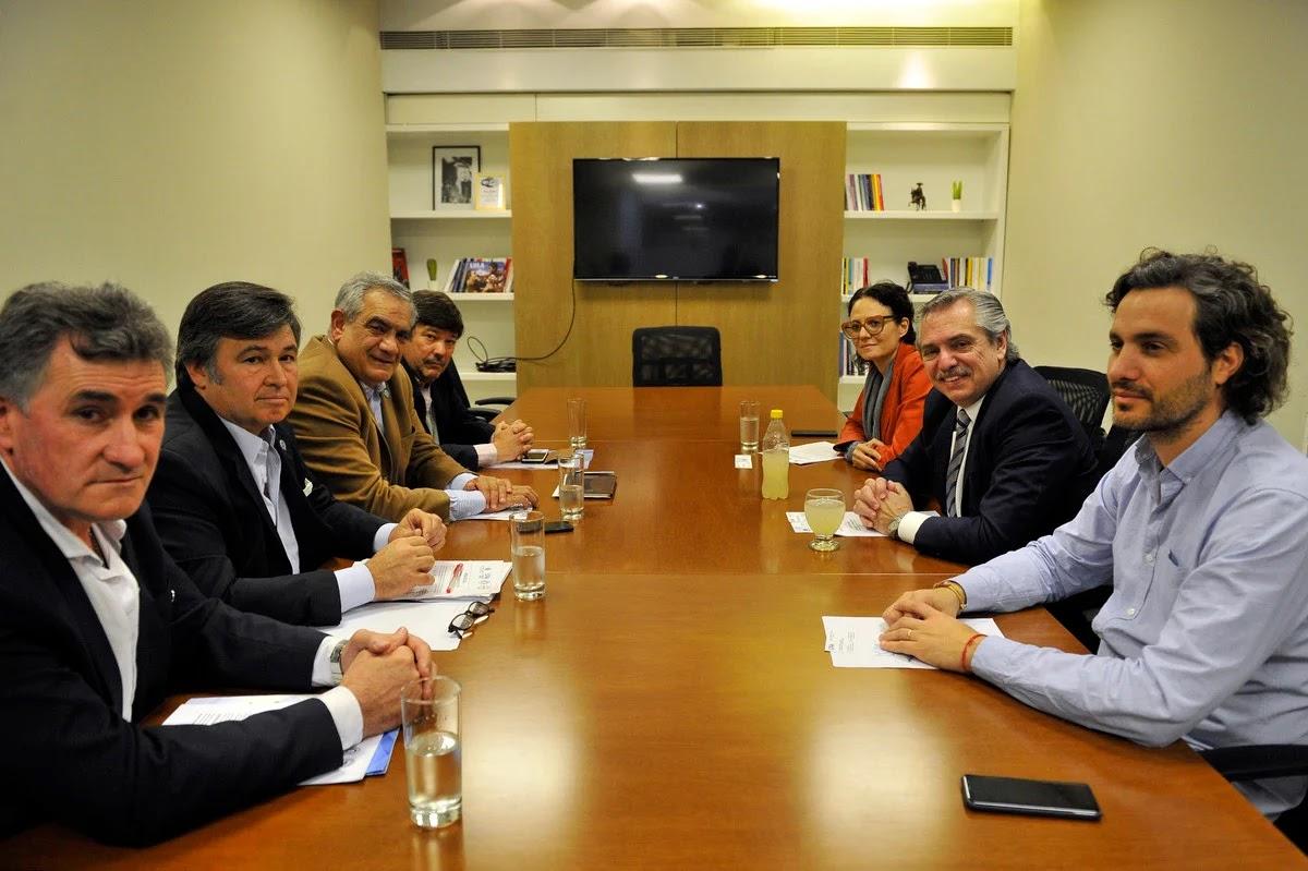 En medio de la tensión con el campo, el Presidente Alberto Fernández recibe a la Mesa de Enlace
