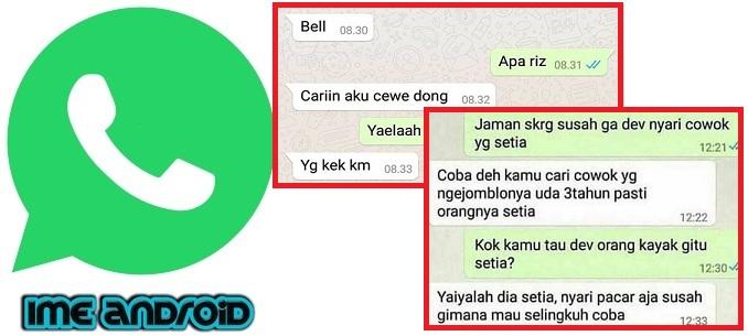 4 Cara Sadap Whatsapp Dengan Dan Tanpa Aplikasi Ssstttt Anti Gagal 21 Ime Android