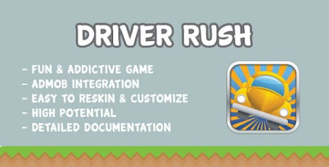 Driver Rush with AdMob