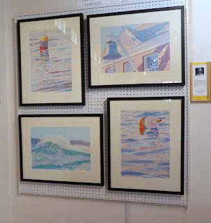 My Panel At Pemaquid Art Gallery - 2016