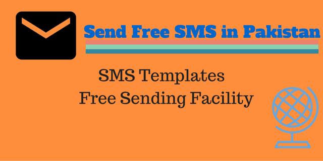 Send SMS Free To Pakistan